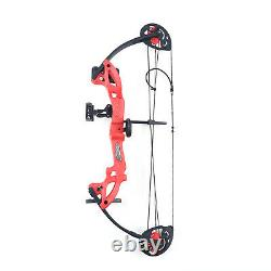 15-25lbs Adjustable Compound Bow Archery Right Hand ABS Hunting UK