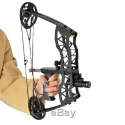 16 Mini Compound Bow Set 35lbs Arrow Bowfishing Hunting Archery Right Left Hand