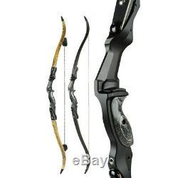 17 19 21 ILF Recurve Bow Riser Aluminum Takedown Handle Archery Bow Hunting