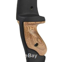 17in ILF Archery Recurve Bow Riser Handle Right Hand Takedown Shooting Hunting