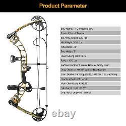19-70lbs Archery Compound Bow Riser Takedown Hunting Sets Right Hand Target