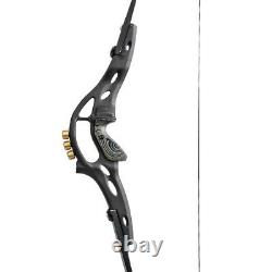 19 ILF Recurve Bow Riser Handle Counterweight American Hunting Takedown Archery