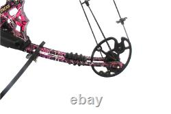 20-70 Lbs Compound Bow 17-29 Inch By Aluminum Alloy In 3 Color For Outdoor Arche