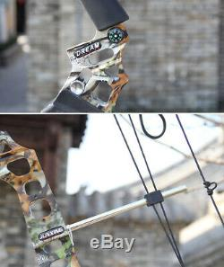 20-70lbs Archery Compound Bow Hunting Shooting Adjustable Right Hand