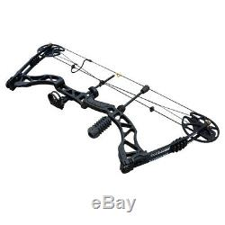 20-70lbs Archery Compound Bow Set Takedown Hunting Target Outdoor Right hand