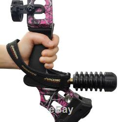 20-70lbs Hunting Archery Compound Bows Set Right Hand Purple Arrow Rest Sight