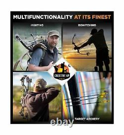 2020 Compound Bow and Arrow for Adults and Teens Hunting Bow with Gordon Limbs