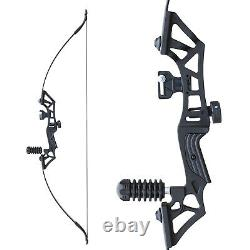 30/40LBS Takedown Recurve Bow Set Archery Hunting Fiberglass Arrows Target Bow