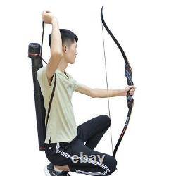 30-50LBS Archery Blue Takedown Recurve Bow And Arrow Set Adult Hunting Outdoor