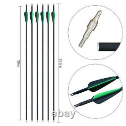 30-50lb 56inch Archery Takedown Recurve Bow Kit Adult Right Hand Hunting Sport