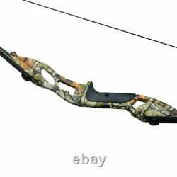 30-50lb Takedown Recurve Bow Arrow Set Archery Hunting Adult Target Practice