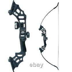 30-50lbs 51 Archery Recurve Bow Kit 12x Arrows Hunting Fishing Adult Right Hand