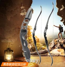 30-50lbs 56 Archery Recurve Longbow Takedown Bow Shooting Right Hand Hunting