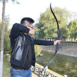 30-50lbs Archery Bowfishing Set Takedown Recurve Bow RH Fishing Arrows Hunting