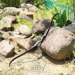 30-50lbs TOPARCHERY 60 Archery Hunting Takedown Recurve Bow Arrows Set Target