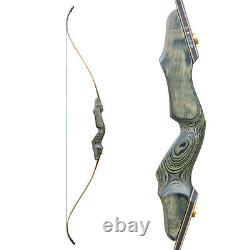 30-60LBS Archery 60 Takedown Recurve Bow Set Arrows Set Outdoor Hunting Adult