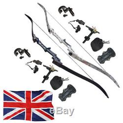 30-60LBS Archery Recurve Bows Kits 57 Takedown Hunting Target Right Hand Outdoo