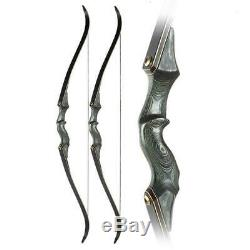 30-60lb Archery 60 Takedown Recurve Bow Set Right Hand Adult Outdoor Hunting