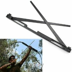 30-60lb Archery Recurve Bow Longbow Takedown Right Hand Hunting Target Adult