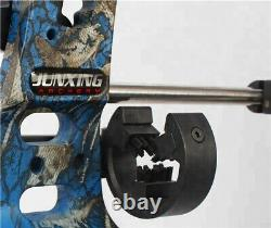 30-60lbs Archery Compound Bow 38 Fishing Hunting 310FPS Adjustable Bow Target