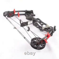 30-60lbs Archery Compound Bow Steel Ball Catapult Dual-use Fishing Hunting