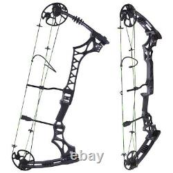 30-70lbs Compound Bow 320fps Adjustable Arrows Kit Archery Hunting Target