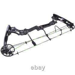 30-70lbs Compound Bow Arrows Kit 320fps Adjustable Archery Hunting Target