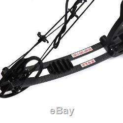 30-70lbs Jun Xing Archery M125 Black Compound bow Hunting Game Outdoor whole set
