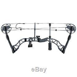 35-70lb Archery Adult Compound Bow Set Hunting RH Adjustable Outdoor Sports