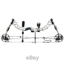 35-70lb Archery Compound Bow Set RH Adjustable Outdoor Hunting Practicing Sports