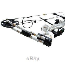 35-70lb Right Hand Archery Compound Bow Hunting Target Sets Outdoor Camouflage