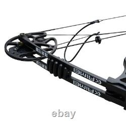 35-70lb Right Hand Archery Compound Bow Set Adjustable Outdoor Hunting Practice
