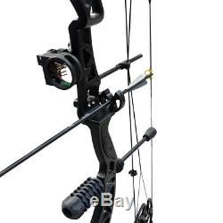 35-70lbs Archery Hunting Compound Bow for Adults Set Beginner Practice Target