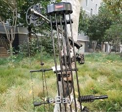 3570lbs 330fps Carbon Archery Hunting-compound-bow Set