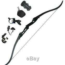 35LBS Archery Recurve Bows Sets Hunting Target 56 Longbow Takedown Right Hand