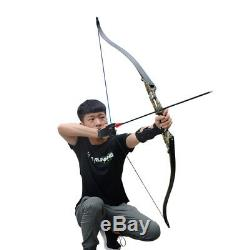 35lbs Takedown Recurve Bow Hunting Arrows Sets Target Right Handed Sports