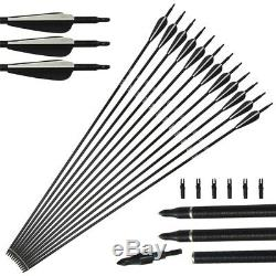 35lbs Takedown bow and Arrows Set Recurve Archery Hunting RH Adult Shooting