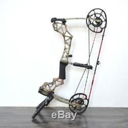 40-60lbs Archery Compound Bow Hunting Fishing Catapult Steel Ball Adjustable