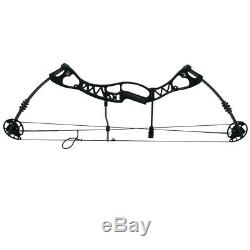 40-65lbs Archery Compound Bows Adjustable Set Hunting Target Right Hand Outdoor
