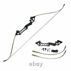 40lb 57 Takedown Recurve Bow Set Adult Right Hand Archery Hunting Target Shoot