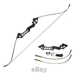40lb Archery RH Takedown Recurve Bow Set Outdoor Hunting Adult Arrows Package