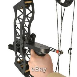 40lbs Mini Compound Bow Arrow Set 16 Hunting Archery Right Left Hand LaserSight