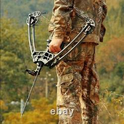 45lbs Pro Compound Right Hand Bow Kit Arrow Archery Target Practice Hunting Bow