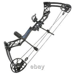 50-70lbs Compound Bow Kit 32 Archery Hunting Target Adult Outdoor Shooting