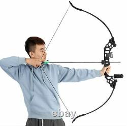 50LB Takedown Recurve Bow Kit Right Hand Adult 12x Archery Bow Arrows Hunting