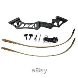 50LBS Archery 57 Recurve Bow Kit Arrows Hunting Set Adult Right Hand UK Stock