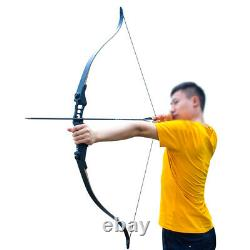 50lb 52 Hunting Bow and Arrow Set Recurve Bows for Adults Right Hand Archery