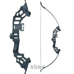 50lb Archery 51 Takedown Recurve Bow Kit Hunting Set Right Hand Adult UK Stock