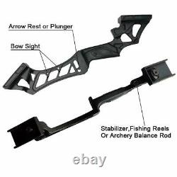 50lb Archery 57 Takedown Recurve Bow Kit Right Hand Adult Hunting Sport Outdoor