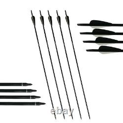 50lb Archery Recurve Bow Kit 60 Takedown Longbow Kit Right Hand Adult Hunting